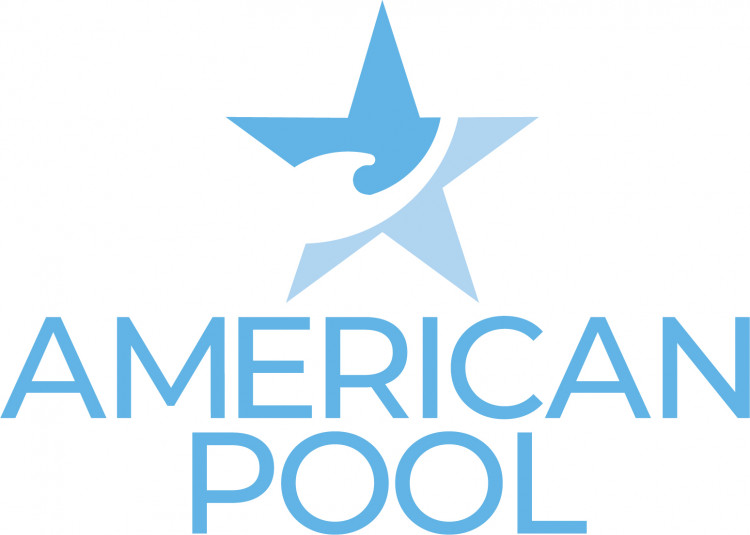 Blue American Pool Logo