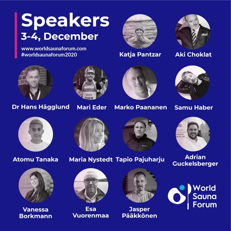 Speaker World Sauna Forum 2020
