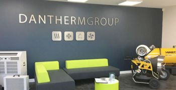 Complete renovation of the Dantherm Group UK offices