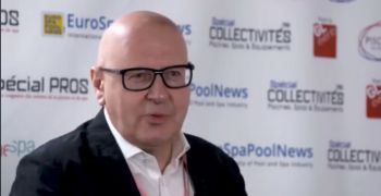 Andreas Weissenbacher, CEO of BWT, guest of Eurospapoolnews Pool Studio 2018