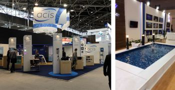 The pool equipment manufacturer ACIS showcase its new products in Egypt