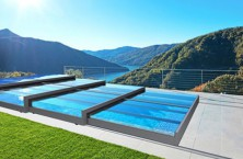 The new Champion pool enclosure by Alukov