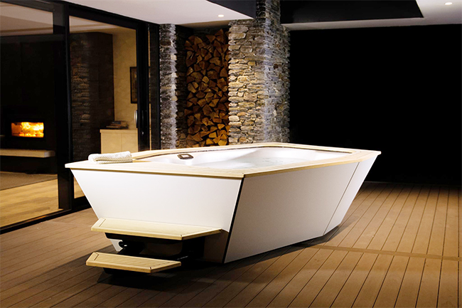 IKON spa exclusively distributed in UK by Spa Solutions
